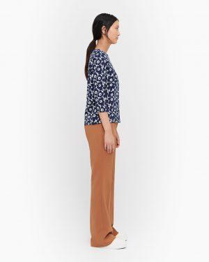 Marimekko Ilma Unikko Shirt Blue