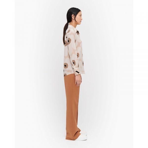 Marimekko Gabro Pieni Unikko Shirt Beige