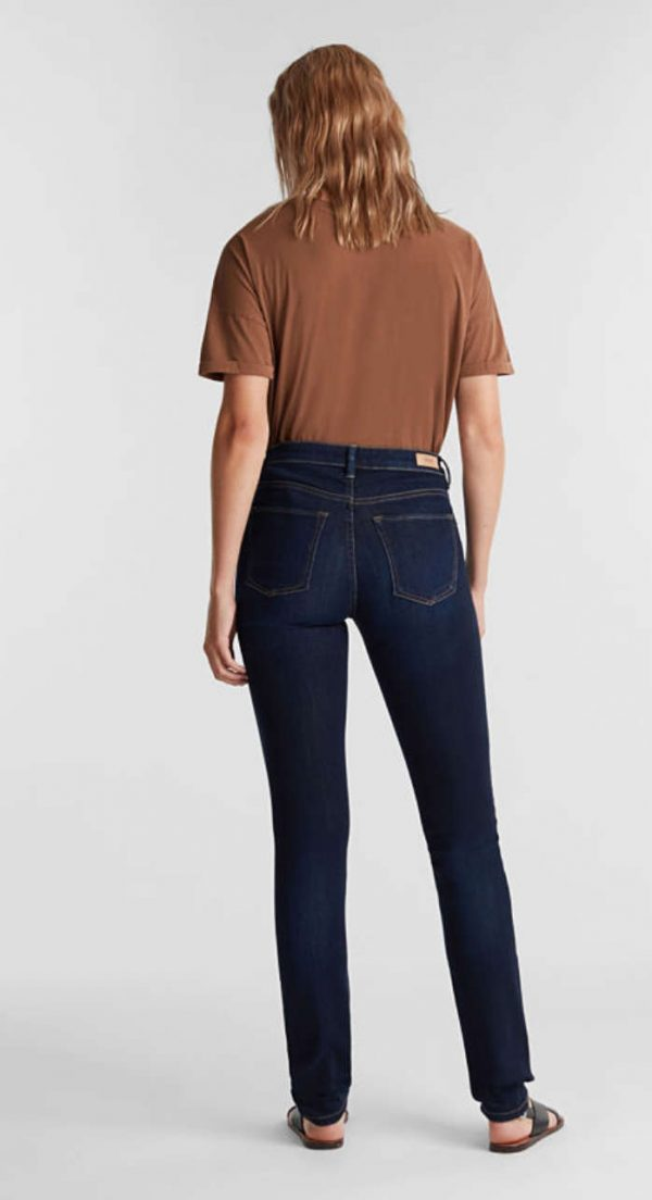 Esprit Denim Pants Slim Dark blue