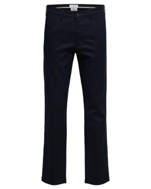 Selected Homme Miles Flex Chino Pants Dark Sapphire Blue