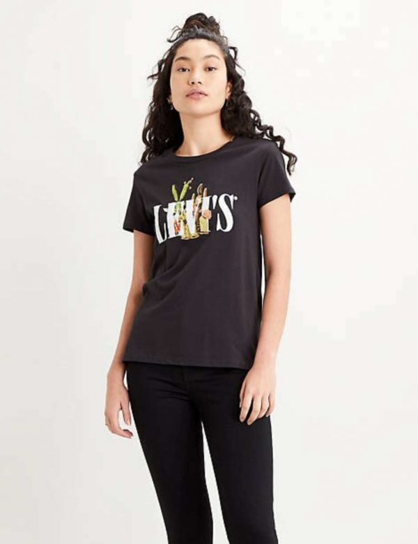 Levi's The Perfect Tee Cactus Black