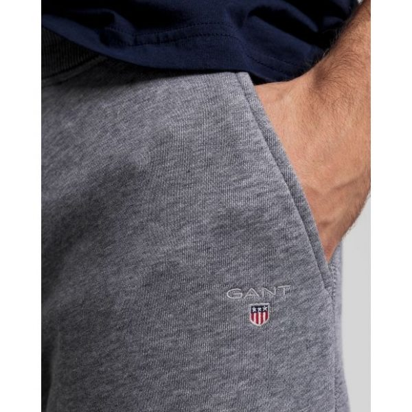 Gant The Original Sweatpants Dark Grey Melange