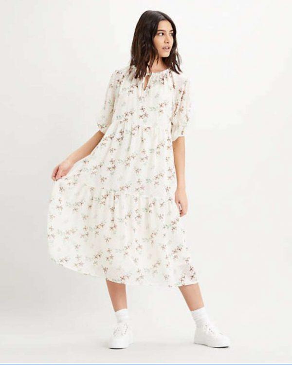 Levi's Azalea Dress Off-white