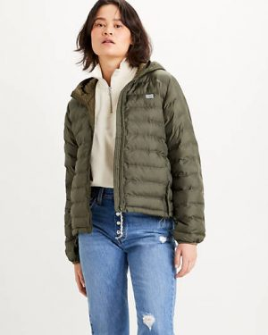 Levi´s Pandora Packable Jacket Olive Night Green