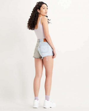 Levi's 501 Shorts Block Light blue