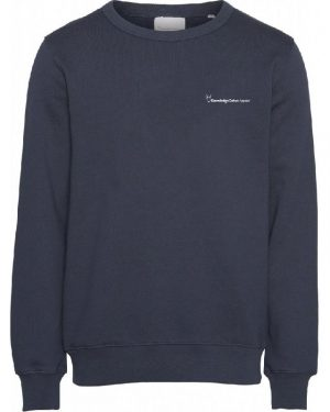 Knowledge Cotton Apparel Elm Sweat Blue
