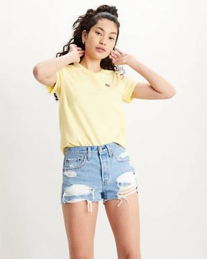 Levi´s Perfect Tee Lemon Merinque Yellow