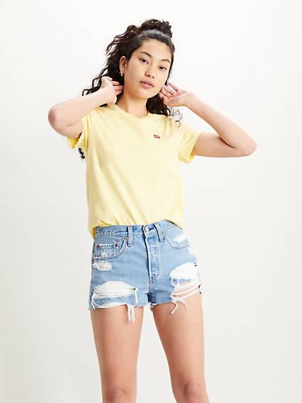 Levi´s Perfect Tee Lemon Merinque Yellow