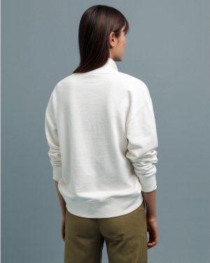 Gant Multicolor Graphic Sweatshirt Eggshell