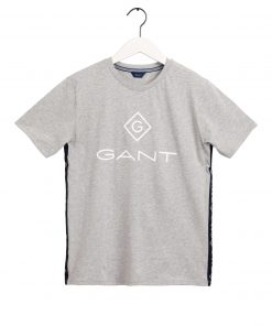 Gant Teens Stripe T-shirt Grey