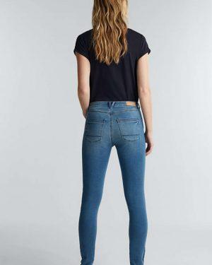 Esprit Skinny Medium Rise Jeans Mid blue