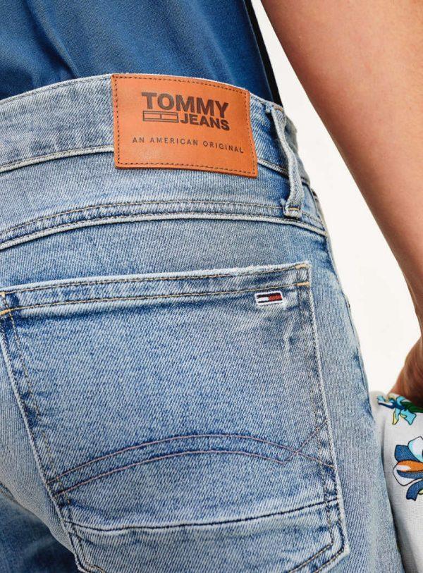 Tommy Jeans Ronnie Denim Shorts Barton Light Blue