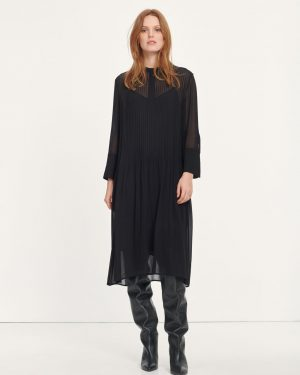 Samsoe & Samsoe Elm Shirt Dress Black