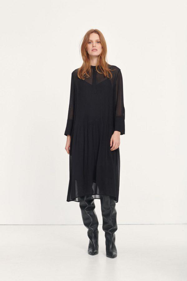 Samsoe & Samsoe Elm Shirt Dress Black