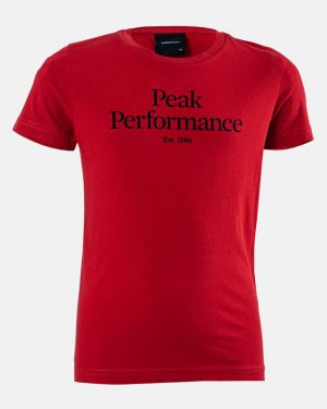 Peak Performance JR T-shirt Red