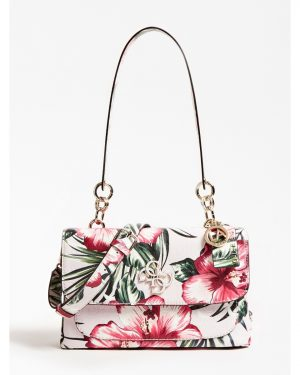 Guess Chic Shine Shoulder Bag Flower