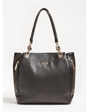 Guess G Chain Tote Bag Black