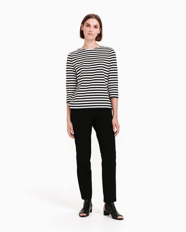 Marimekko Ilma Jersey Shirt Black-white