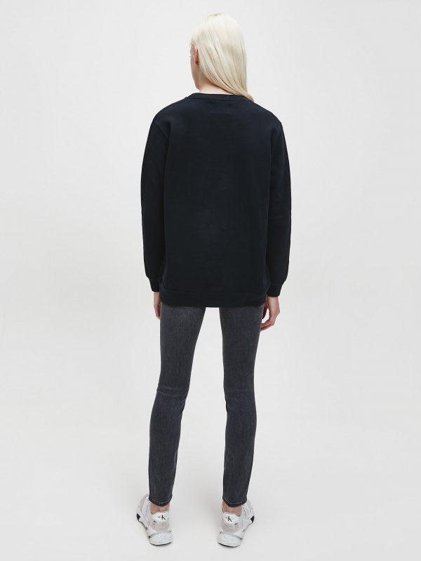 Calvin Klein Monogram Logo Sweatshirt Black