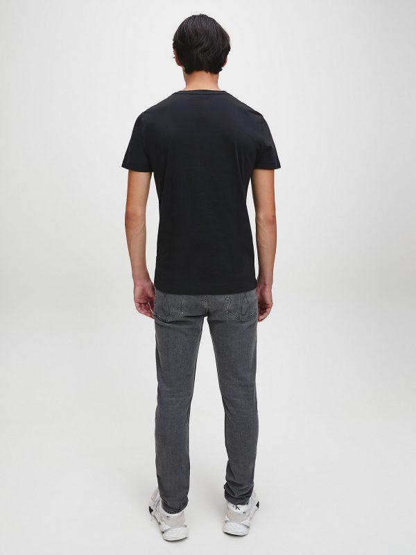 Calvin Klein Institutional logo T-shirt Black