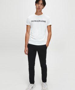 Calvin Klein Institutional logo T-shirt Bright White