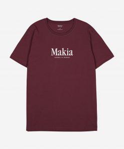 Makia Strait T-shirt Port