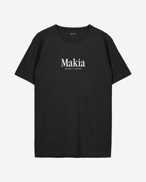 Makia Strait T-shirt Black