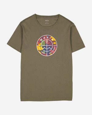 Makia Re-Scope T-shirt Green