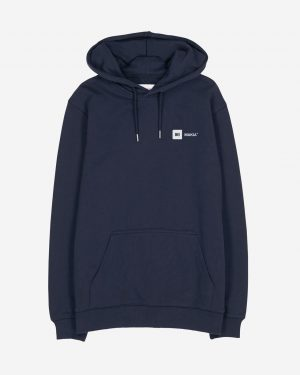 Makia Dylan Hooded Sweatshirt Dark Blue