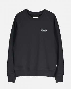 Makia Origin Sweatshirt Black
