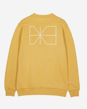 Makia Trim Sweatshirt Ochre