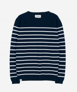 Makia Coastal Knit Dark Navy
