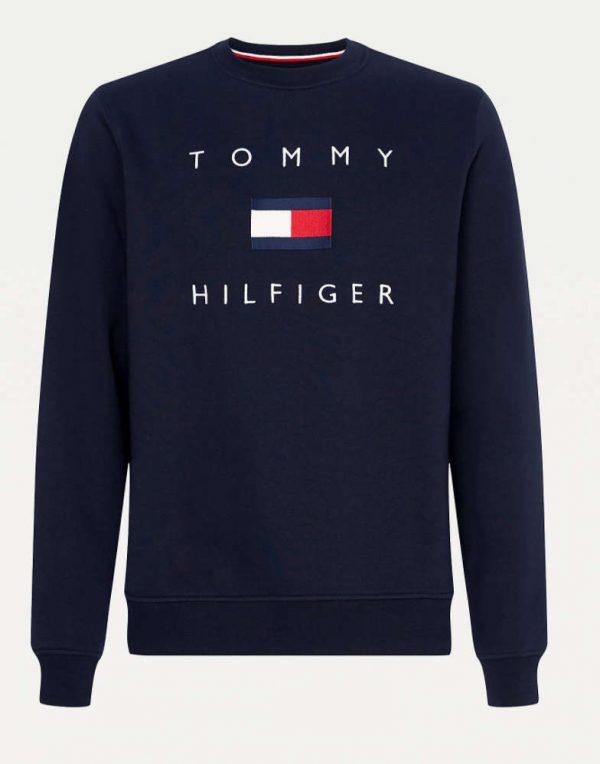 Tommy Hilfiger Flag Sweatshirt Navy blue
