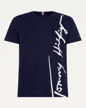 Tommy Hilfiger Cool Organic Cotton T-shirt Blue