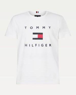 Tommy Hilfiger Flag T-shirt White