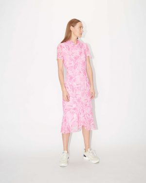 Tiger of Sweden Galia Printed Dress Pink