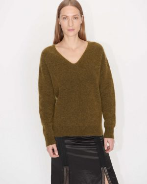 Tiger of Sweden Rosena Pullover Dark honey