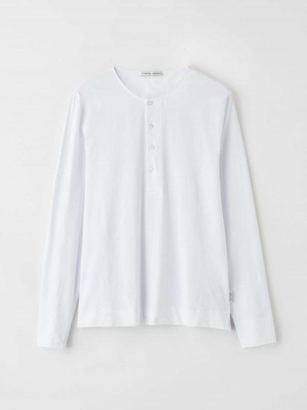 Tiger of Sweden Cappe Jersey Shirt White