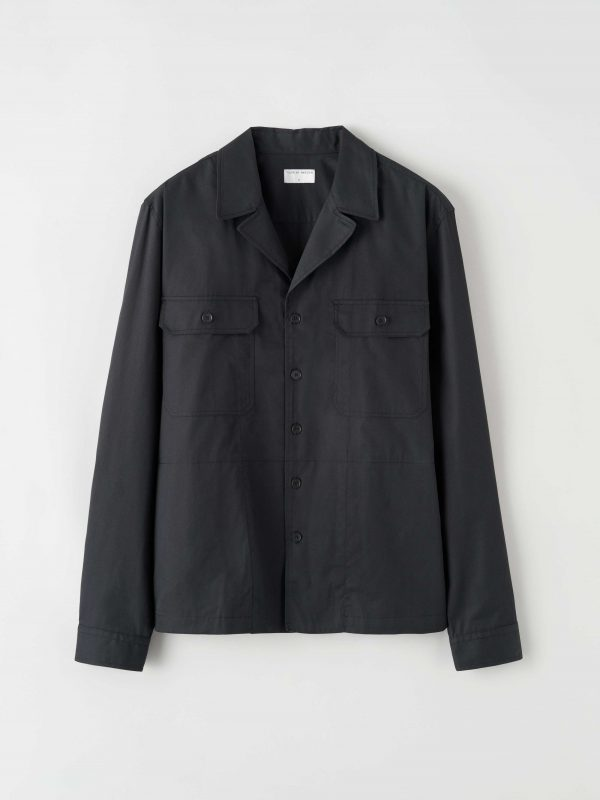 Tiger of Sweden Frencesco Over-shirt Black