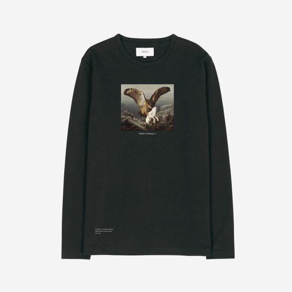 Makia x Von Wright Caught Long Sleeve Black
