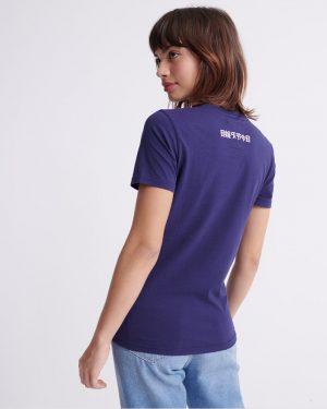 Superdry Vintage Logo T-shirt Rinse Navy