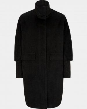 Comma, Cape Coat Black
