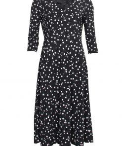 STI Felianna Jersey Dress Black