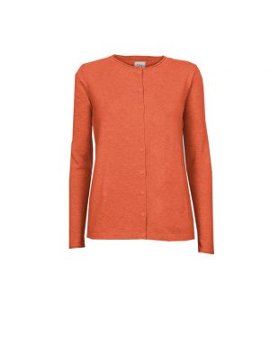 STI Riven Cardigan Spicy orange