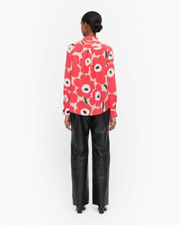 Marimekko Toiveikas Pieni Unikko Shirt Pink