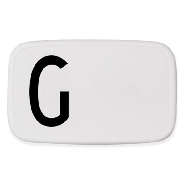 Design Letters Lunch Box G