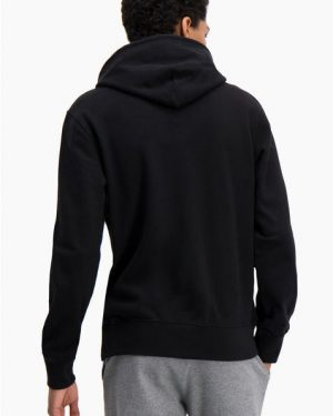Champion Hooded Sweatshirt Black