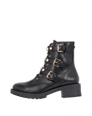 Bianco Biapearl Boot Black