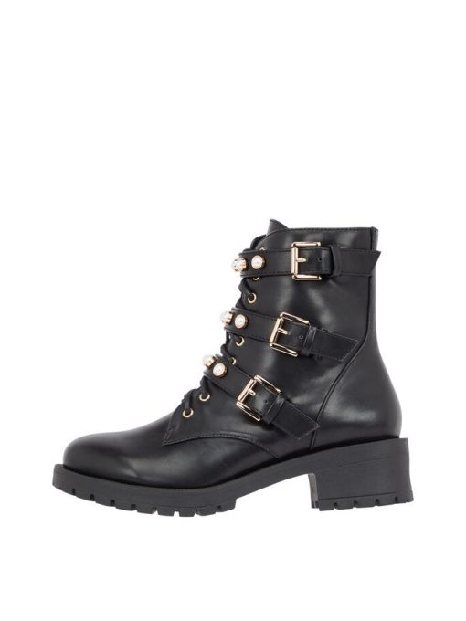 Bianco Biapearl Boot Black