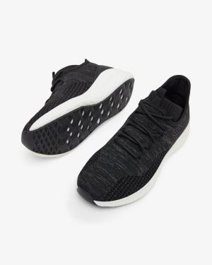 Bianco Biadelana Knit Sneakers Black